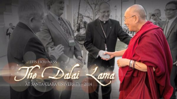 His Holiness Dalai Lam Santa Clara University Flash